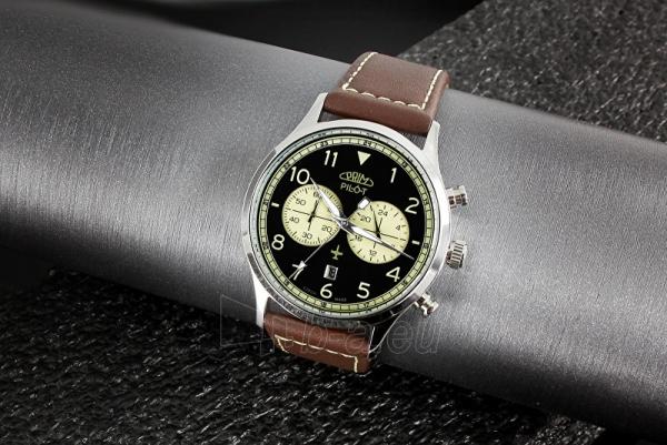Vyriškas laikrodis Prim Pilot Chronograph - D Paveikslėlis 3 iš 5 310820140837