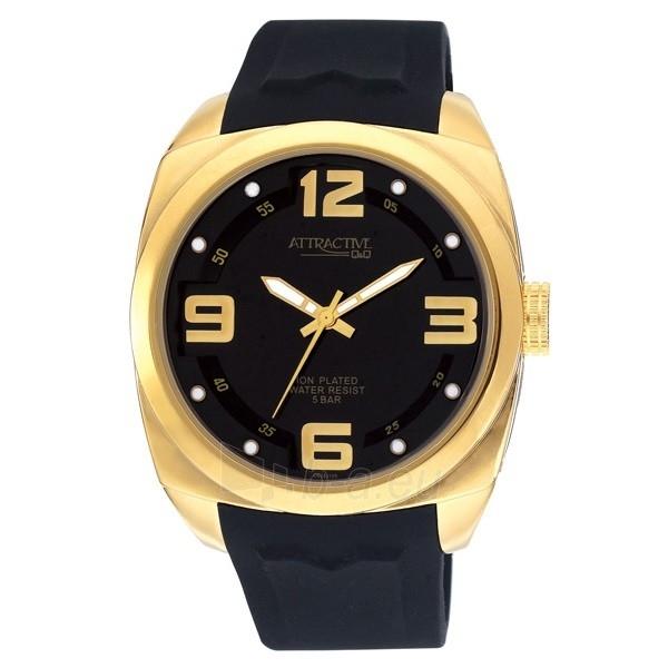 Vīriešu pulkstenis Q&Q Atractive DB28J105Y Paveikslėlis 1 iš 3 310820010713