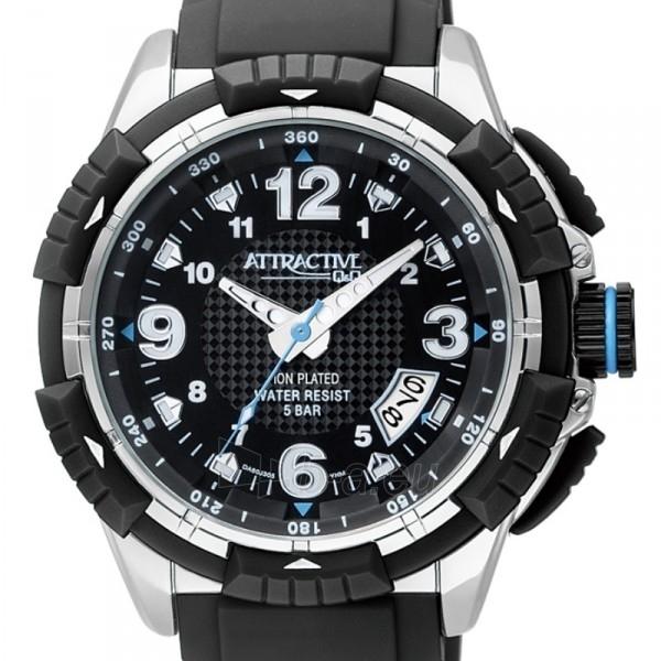 Vyriškas laikrodis Q&Q DA60J305Y Paveikslėlis 2 iš 5 30069606030