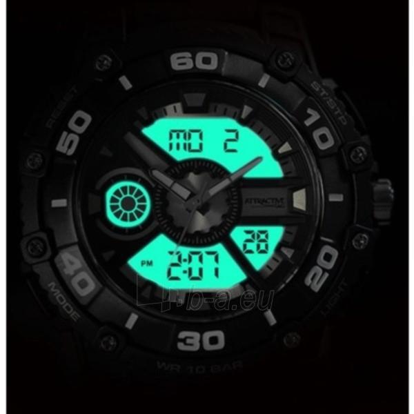 Vīriešu pulkstenis Q&Q DE10J501Y Paveikslėlis 3 iš 3 30069608753