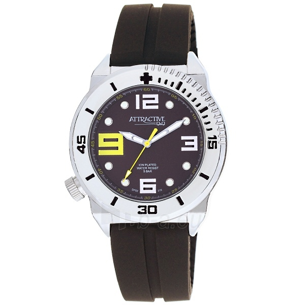 Men's watch Q&Q DF02J315Y Paveikslėlis 1 iš 3 30069606034