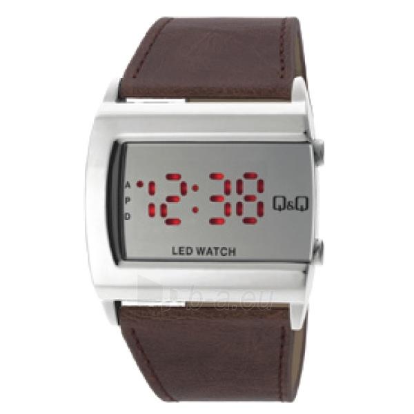 Vyriškas laikrodis Q&Q LED laikrodis M101J331Y Paveikslėlis 1 iš 1 30069608792