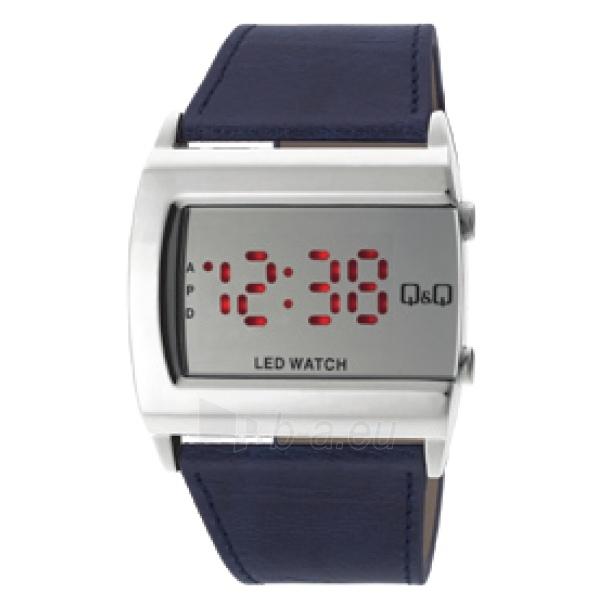 Vyriškas laikrodis Q&Q LED laikrodis M101J391Y Paveikslėlis 1 iš 1 30069608795