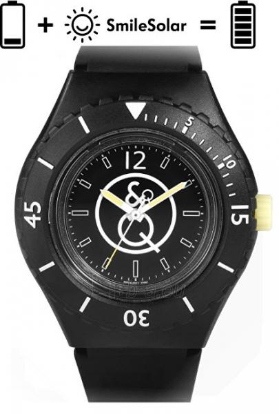 Vyriškas laikrodis Q&Q SmileSolar 20BAR Series 001 RP04J001Y Paveikslėlis 1 iš 5 310820161174