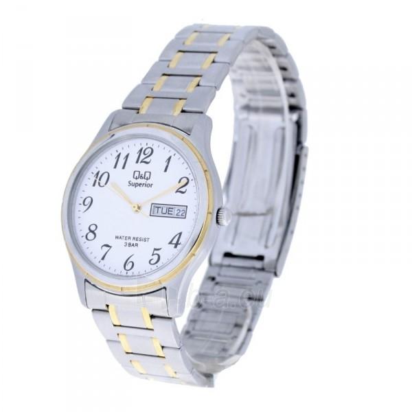 Vyriškas laikrodis Q&Q W430J404 Paveikslėlis 1 iš 7 30069608901