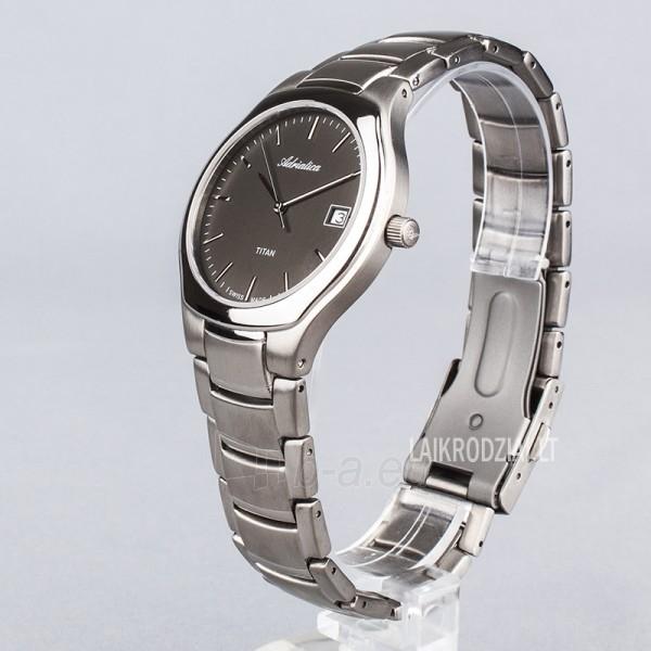 Vyriškas laikrodis rankinis Adriatica A8201.4116Q Paveikslėlis 5 iš 5 30069605665