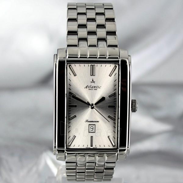 Vīriešu rankinis pulkstenis ATLANTIC Seamoon Big Size XXL 67345.41.21 Paveikslėlis 3 iš 8 30069605618