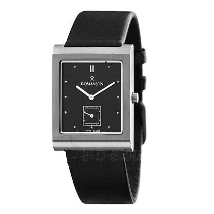 Male laikrodis Romanson DL0581N MW BK Paveikslėlis 1 iš 2 30069608985