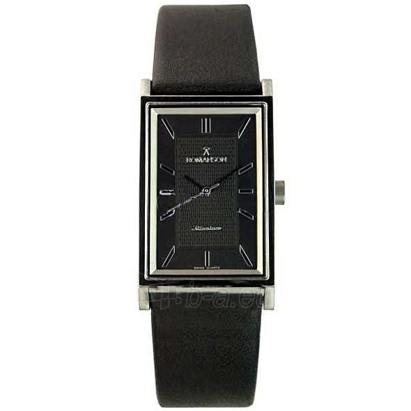 Vīriešu pulkstenis Romanson DL4191 MW BK Paveikslėlis 1 iš 2 30069608998