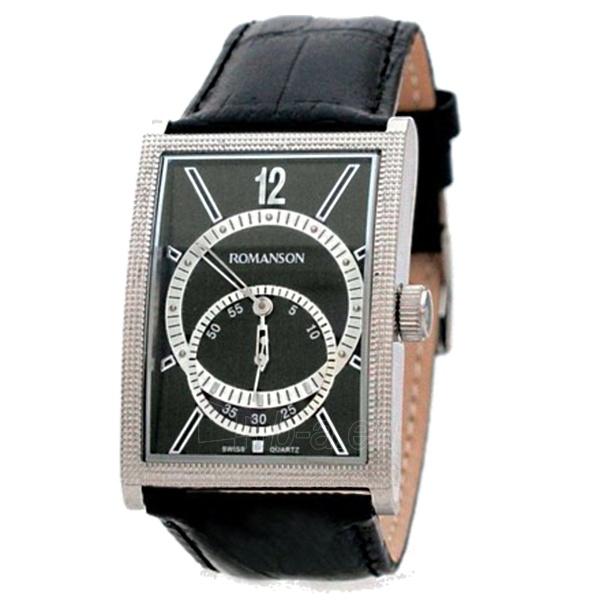 Vīriešu pulkstenis Romanson DL5146N MW BK Paveikslėlis 1 iš 1 30069608999