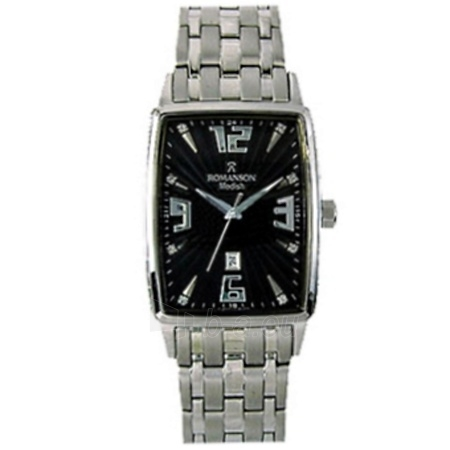Vīriešu pulkstenis Romanson DM5127 MW BK Paveikslėlis 1 iš 1 30069609003