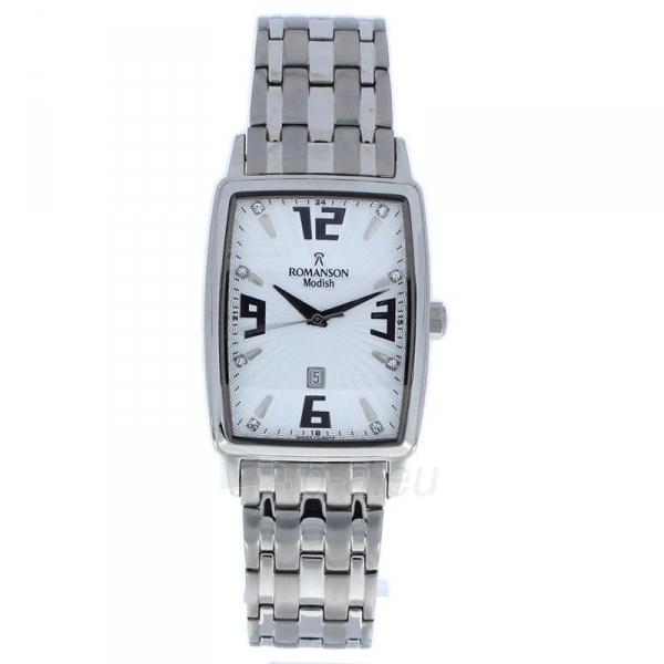 Male laikrodis Romanson DM5127MWWH Paveikslėlis 1 iš 2 310820010450