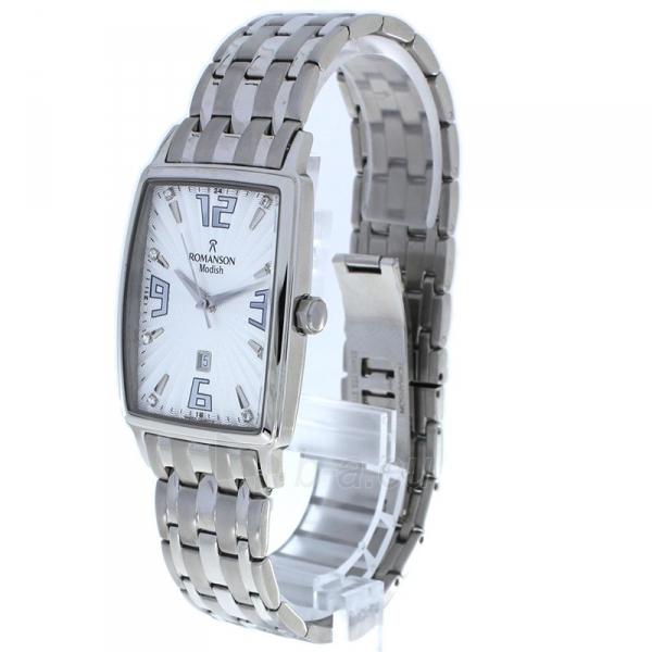 Male laikrodis Romanson DM5127MWWH Paveikslėlis 2 iš 2 310820010450