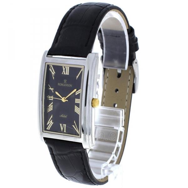 Male laikrodis Romanson TL0110MCBK Paveikslėlis 2 iš 2 310820010423