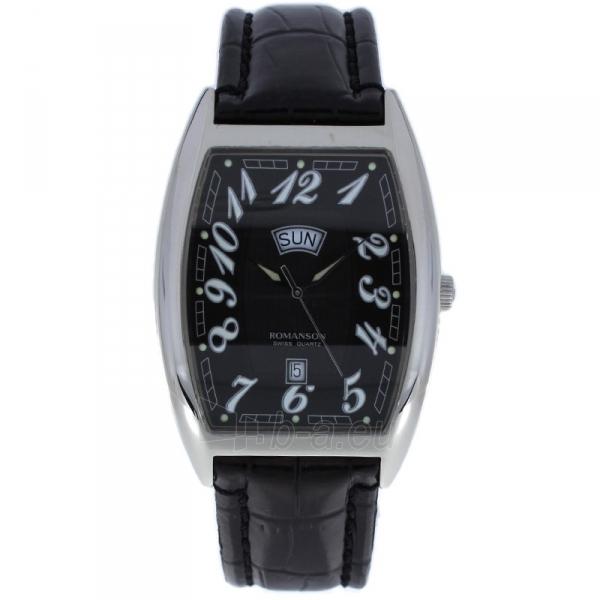 Male laikrodis Romanson TL0225 XW BK Paveikslėlis 1 iš 2 310820010405