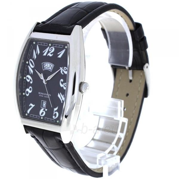 Male laikrodis Romanson TL0225 XW BK Paveikslėlis 2 iš 2 310820010405