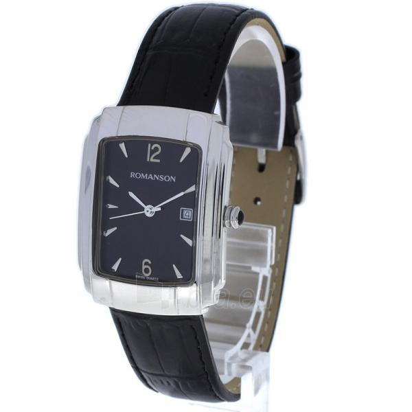 Male laikrodis Romanson TL1157MWBK Paveikslėlis 2 iš 2 310820010442