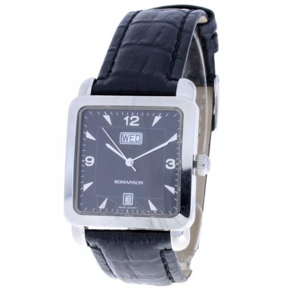 Vyriškas laikrodis Romanson TL1579D XW BK Paveikslėlis 1 iš 7 30069606215