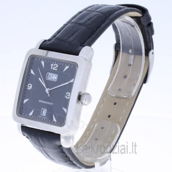 Vyriškas laikrodis Romanson TL1579D XW BK Paveikslėlis 2 iš 7 30069606215
