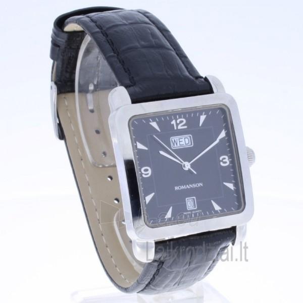 Vyriškas laikrodis Romanson TL1579D XW BK Paveikslėlis 6 iš 7 30069606215