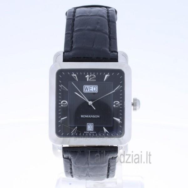 Vyriškas laikrodis Romanson TL1579D XW BK Paveikslėlis 7 iš 7 30069606215