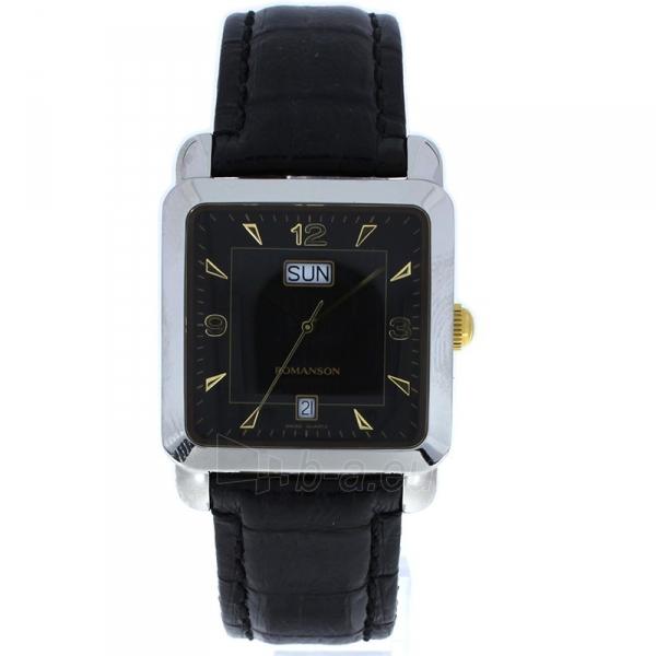 Male laikrodis Romanson TL1579DXCBK Paveikslėlis 1 iš 2 310820010414