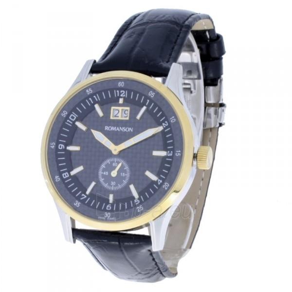 Vyriškas laikrodis Romanson TL4131 MC BK Paveikslėlis 1 iš 6 310820010629