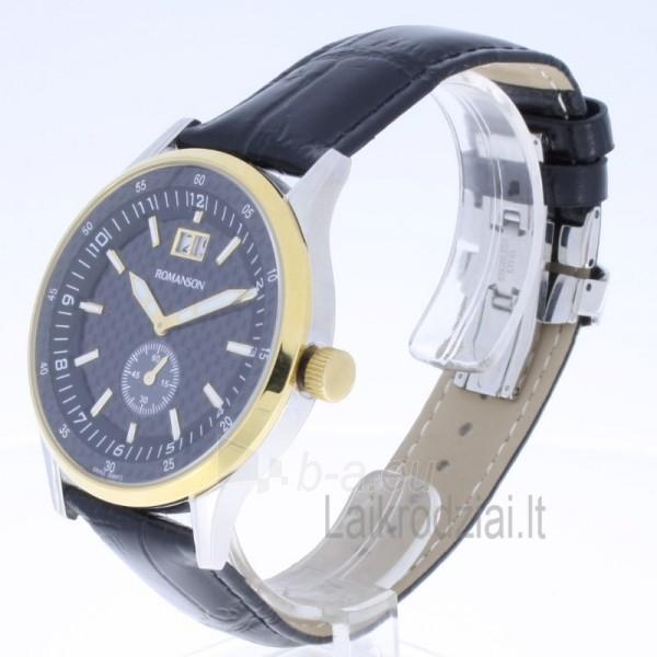 Vyriškas laikrodis Romanson TL4131 MC BK Paveikslėlis 2 iš 6 310820010629