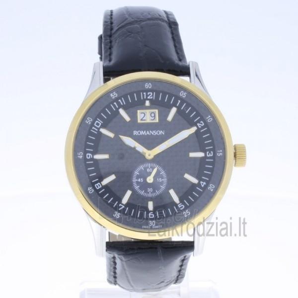 Vyriškas laikrodis Romanson TL4131 MC BK Paveikslėlis 6 iš 6 310820010629