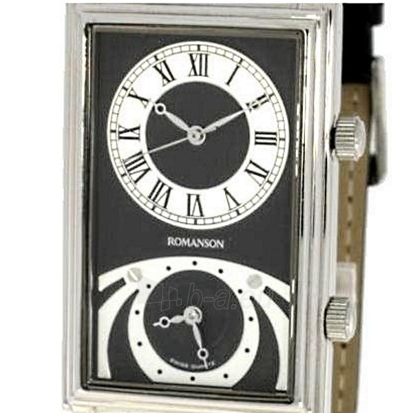 Vīriešu pulkstenis Romanson TL8202 MW BK Paveikslėlis 4 iš 4 310820010368