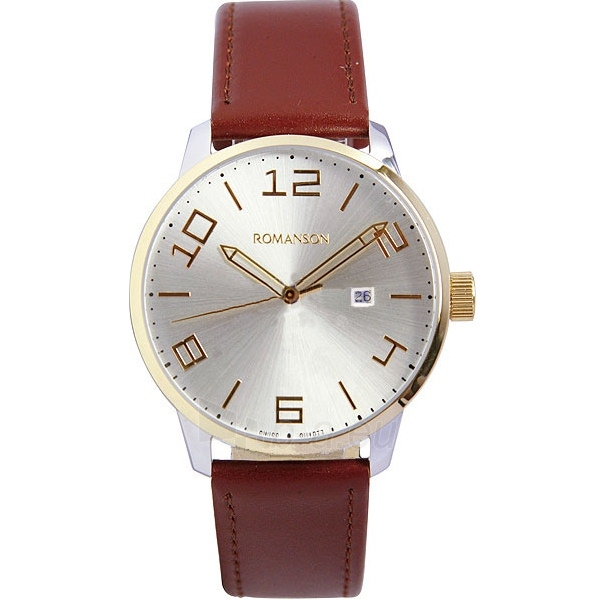 Vyriškas laikrodis Romanson TL8250 MJ WH Paveikslėlis 1 iš 2 30069606234