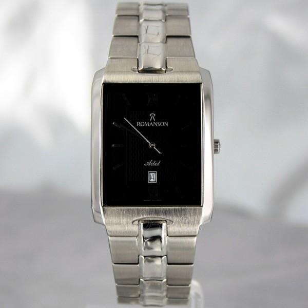 Vīriešu pulkstenis Romanson TM0186 XW BK Paveikslėlis 2 iš 6 30069609006