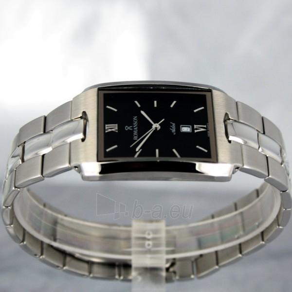 Vīriešu pulkstenis Romanson TM0186 XW BK Paveikslėlis 3 iš 6 30069609006