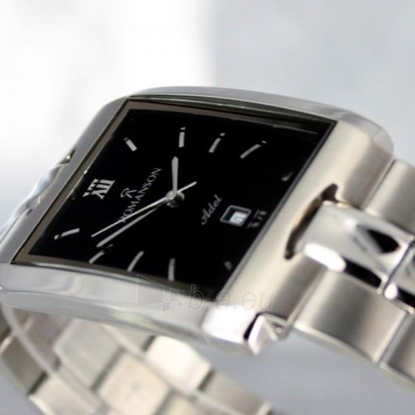 Vīriešu pulkstenis Romanson TM0186 XW BK Paveikslėlis 4 iš 6 30069609006