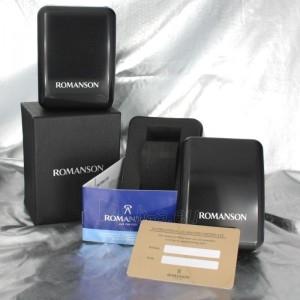 Vīriešu pulkstenis Romanson TM0186 XW BK Paveikslėlis 6 iš 6 30069609006