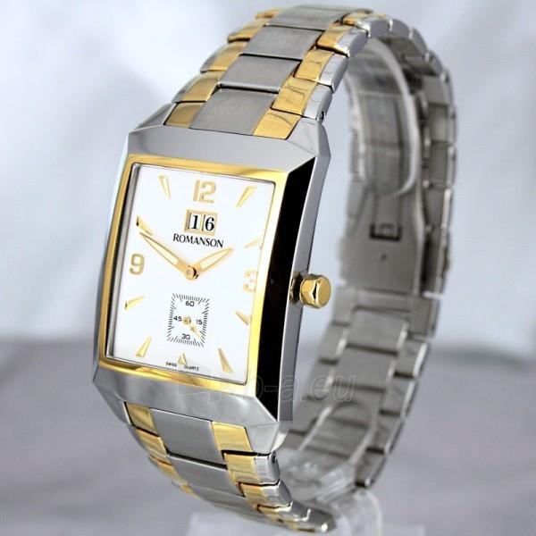 Vīriešu pulkstenis Romanson TM4123 BM CWH Paveikslėlis 1 iš 7 30069609031