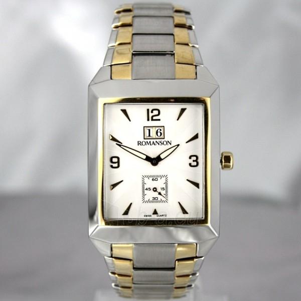 Vīriešu pulkstenis Romanson TM4123 BM CWH Paveikslėlis 2 iš 7 30069609031