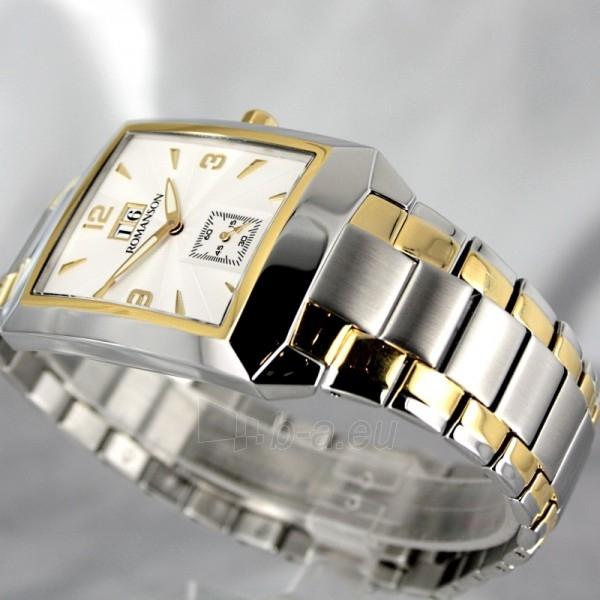 Vīriešu pulkstenis Romanson TM4123 BM CWH Paveikslėlis 4 iš 7 30069609031