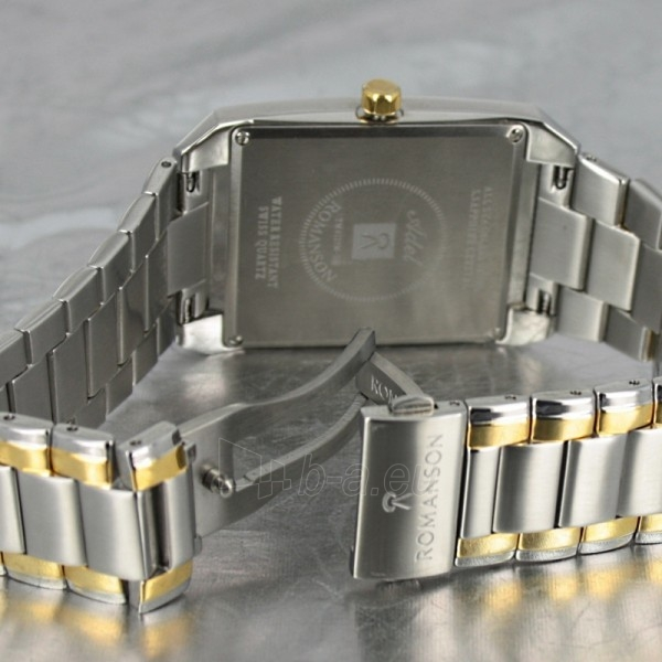 Vīriešu pulkstenis Romanson TM4123 BM CWH Paveikslėlis 6 iš 7 30069609031