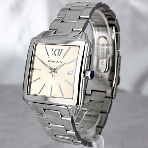 Vyriškas laikrodis Romanson TM6145 MW BROWN Paveikslėlis 1 iš 7 30069609037