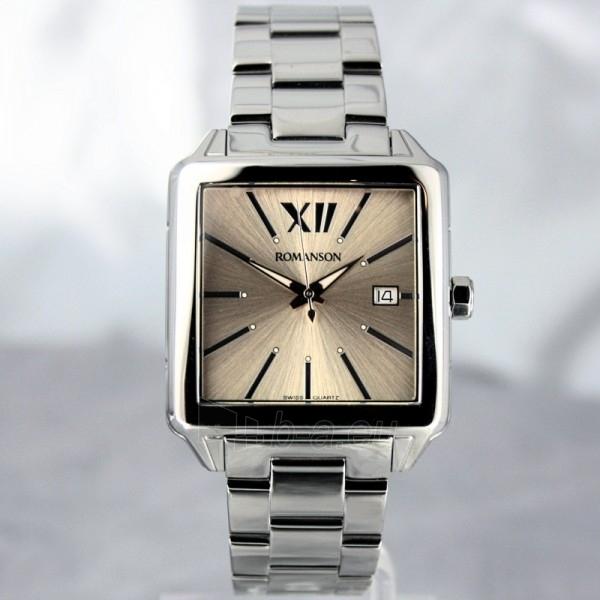 Vyriškas laikrodis Romanson TM6145 MW BROWN Paveikslėlis 3 iš 7 30069609037