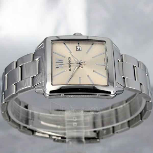Vyriškas laikrodis Romanson TM6145 MW BROWN Paveikslėlis 4 iš 7 30069609037