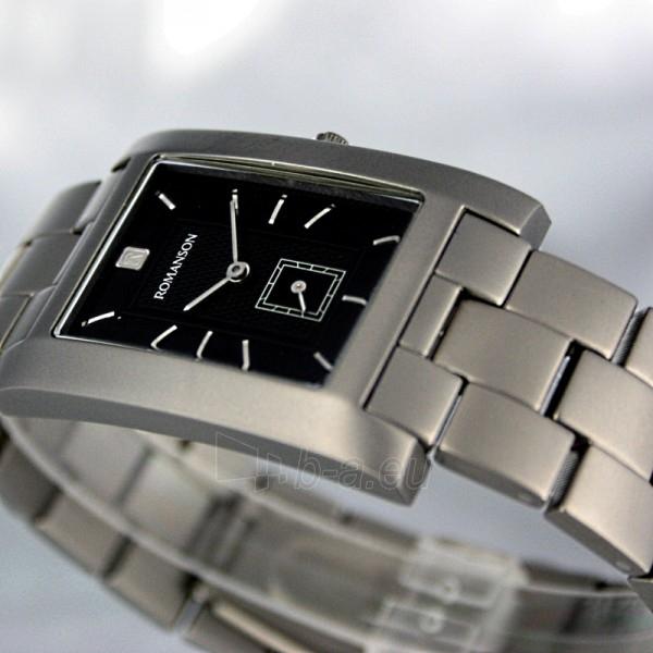 Vyriškas laikrodis Romanson UM0589 NM WBK Paveikslėlis 4 iš 8 30069609048