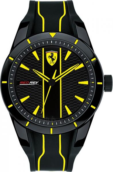 Vīriešu pulkstenis Scuderia Ferrari Red rev 0830482 Paveikslėlis 1 iš 5 310820133509