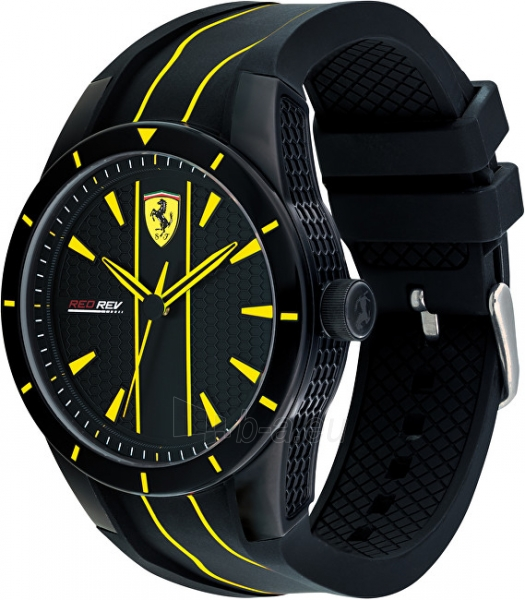 Vīriešu pulkstenis Scuderia Ferrari Red rev 0830482 Paveikslėlis 2 iš 5 310820133509
