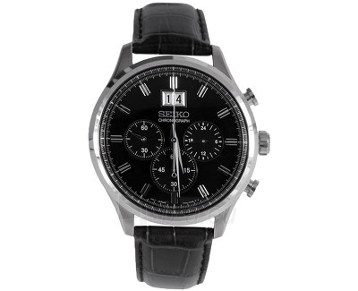 Male laikrodis Seiko Chronograf SPC083P2 Paveikslėlis 1 iš 1 310820028059