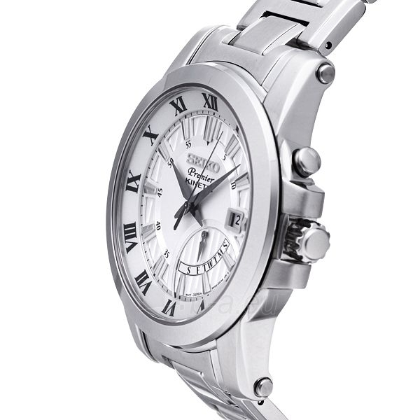Vīriešu pulkstenis Seiko Premier Kinetic SRN037P1 Paveikslėlis 2 iš 3 30069606243