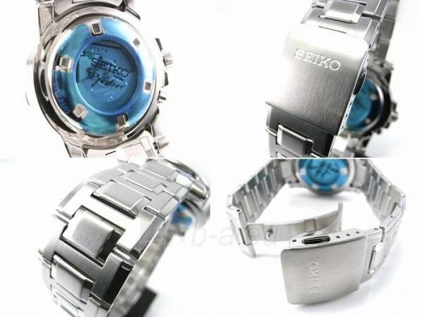 Vīriešu pulkstenis Seiko Premier Kinetic SRN037P1 Paveikslėlis 3 iš 3 30069606243