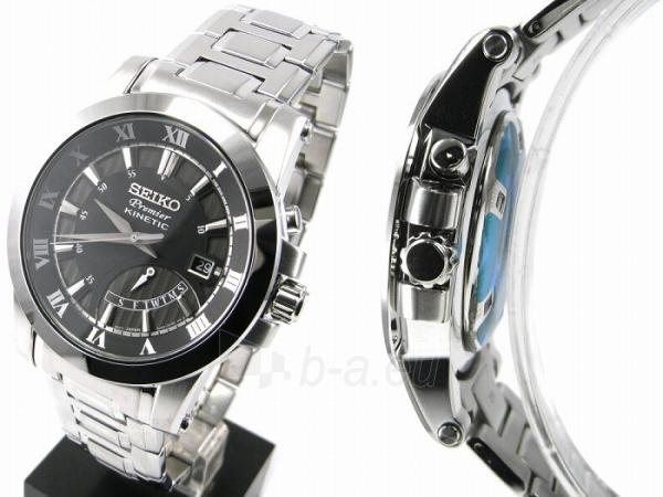 Men's watch Seiko Premier Kinetic SRN039P1 Paveikslėlis 4 iš 6 30069606244