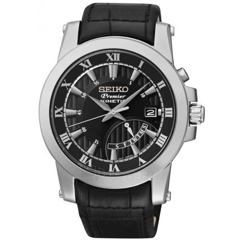 Vīriešu pulkstenis Seiko Premier Kinetic SRN039P2 Paveikslėlis 1 iš 4 30069606245